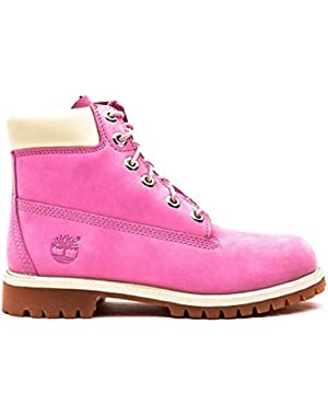 Kids 6-Inch Premium Leather Boots