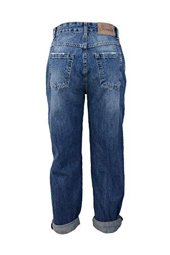 Suerte Jeans Boyfriend Decorazioni Jeans Suerte Con rYnqwrEt