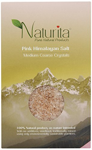 Naturita - Pink Himalayan Salt - Medium Coarse Crystals - 1Kg