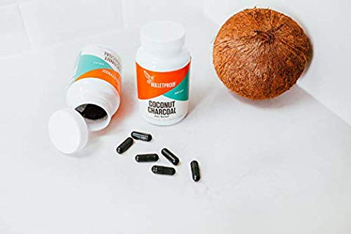 Bulletproof Coconut Charcoal, Supports Better Digestion and Gas Relief (90 Capsules) (2-Pack) by Bulletproof (Image #4)