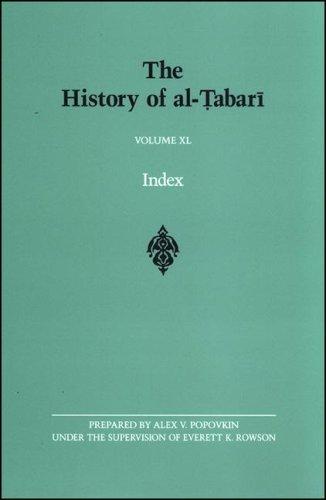 Read Online The History of al-Tabari Volume XL Index (S U N Y Series in Near Eastern Studies) pdf epub