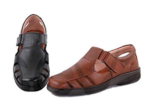 Caballero Sandal Piel Sandalia Primocx Cuero w7qE1EO