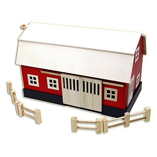 Homewear Wood Big Red Barn Playset