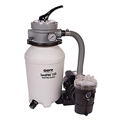 NEW FOR 2015 GAME 4706 SandPRO 35D 1/3HP Replacement Pool Sand Filter (For Intex & Bestway Pools) (Better Performance, Energy Efficient) from parent