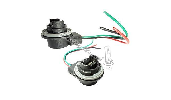 3157 socket wiring diagram amazon com 3156 3157 wiring harness sockets for led bulbs  turn  wiring harness sockets for led bulbs