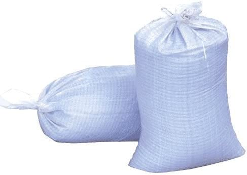 18×30 Woven Polypropylene Sand Bags With Ties UV Protection 1000 Bags