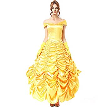 Amazon.com: Princess Belle Costume Halloween Costumes
