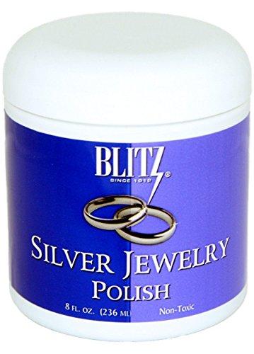 Blitz Silver Jewelry Polish, 8 Fluid Ounce ()