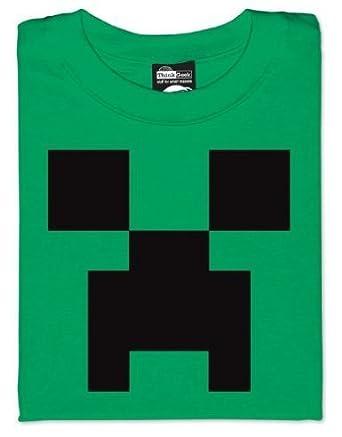 Amazon.com: Minecraft Creeper T-Shirt (Large): Clothing