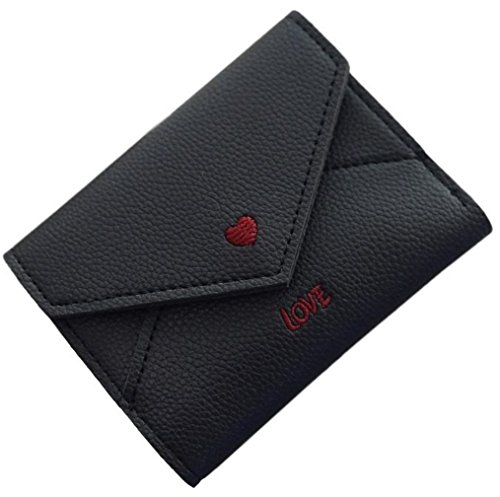 Love Heart Wallet (Black)