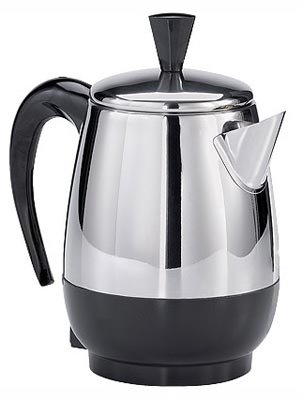 Farberware Percolator 4 Cup Stainless Steel 1000 W by Applica/Spectrum Brands