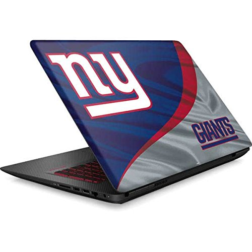Skinit NFL New York Giants Omen 15in Skin - New York Giants Design - Ultra Thin, Lightweight Vinyl Decal Protection by Skinit
