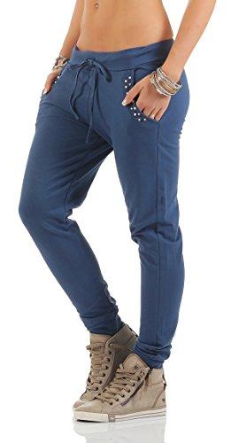 Vaquero shine Azul Pantalón Mr Para Mujer 8OdX8wq