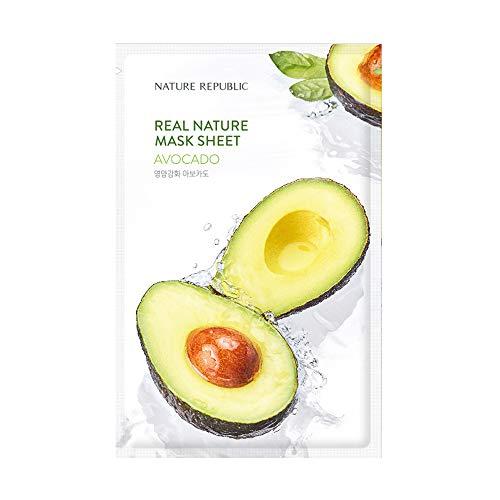 Nature Republic Real Nature Mask Sheet_10Sheet (#Avocado)