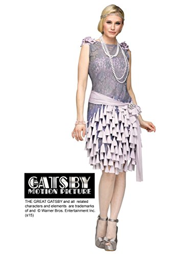 Fun World Women's The Gatsby-Daisy Buchanan Bluebells Costume, Grey, (Daisy Buchanan Halloween)