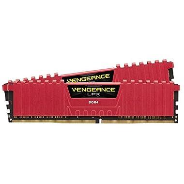 Corsair Vengeance 16GB DDR4 3000 MHz Kit 16GB DDR4 3000MHz Memory Module - Memoria (DDR4, PC/server, 288-pin DIMM, 2 x 8 GB, PC-24000, DIMM)