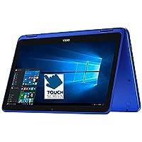 Flagship Dell Inspiron 11.6 2-in-1 Convertible HD Touchscreen Laptop - Intel Quad-Core Pentium N3710 8GB DDR3 128GB SSD MaxxAudio 802.11bgn Webcam Bluetooth HDMI USB3.0 Win 10(Certified Refurbished)