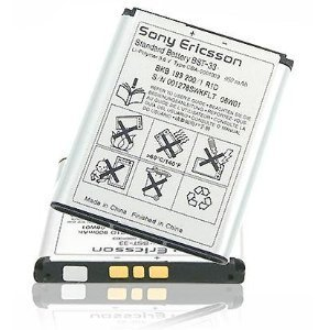 Battery? Original Sony Ericsson BST-33 Lithium-Polymer 900 mAh 3.6V for Sony Ericsson P1i