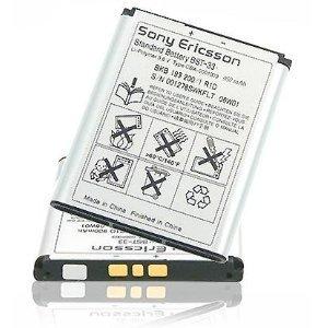 ORIGINAL SONY ERICSSON BATTERY BST-33 Li-Polymer 900 mAh FOR Aino / C702i / C901 GreenHeart / C903 / G502 / G700 / G705 / G705u / G900 / K330 / K530i / K550i / K550im / K630i / K790i / K800i / K810i / M600i / Naite / P1i / P990i / Satio / T700 / T715 / V640i / V800 / W205 / W300i / W302 / W395 / W595 / W610i / W660i / W705 / W715 / W830i / W850i / W880i / W900i / W950i / W960i / Z250i / Z320i / Z530i / Z750i / Z800i