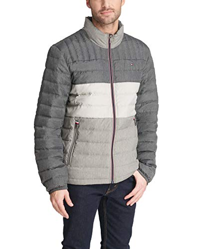 Tommy Hilfiger Men's Ultra Loft Lightweight Packable Puffer Jacket (Standard and Big & Tall)