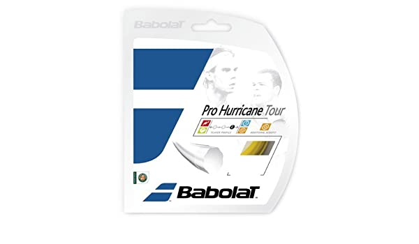 Tennis Racquet String Sets in Multi-Packs VS Hybrid Control and Durability Best for Comfort Babolat Pro Hurricane Tour 2-4-6-8-Packs Poly//Natural Gut Combo