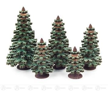 Spanbaum natur Höhe = 4cm NEU Erzgebirge Holzbaum Dekobaum