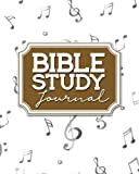 Bible Study Journal: Bible Diary, Bible Study Daily Devotional, Bible Note Pads, Bible Study Workbooks For Young Adults, Music Lover Cover: Volume 1