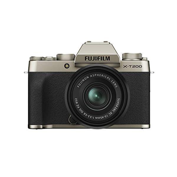 RetinaPix Fujifilm X-T200 XC 15-45mm F3.5-5.6 (Champagne Gold)