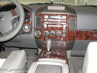 Amazon Com Nissan Armada Interior Burl Wood Dash Trim Kit Set 2004