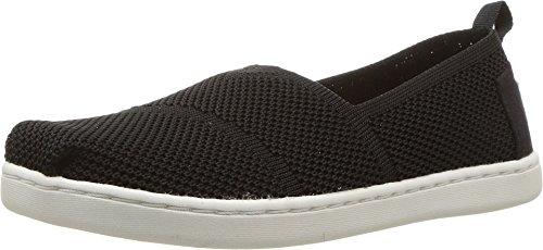 d23e4aea9c722 Toms - Youth Knit Apalgrata Slip-On Shoes, Size: 3 M US Little Kid, Color:  Black Mesh
