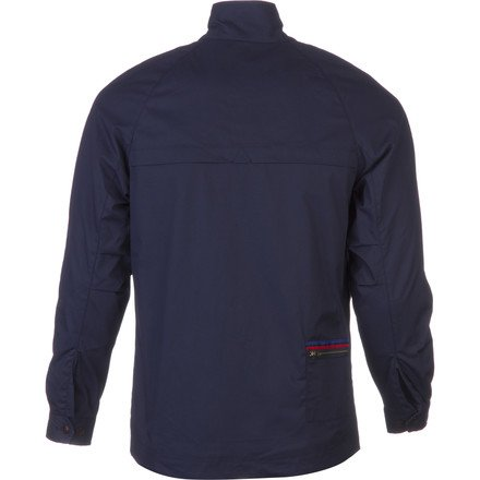 Fred Perry USA Drop Seam Harrington Jacket - Men's Carbon Blue, L