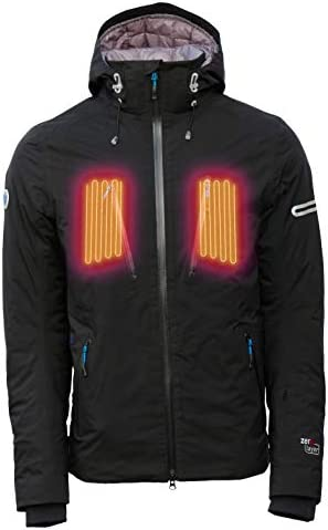 Summit Heated Jacket by Volt. Men`s Heated Jacket Rated at 750 Fill Power so This Jacket is Ultra Warm / Summit Heated Jacket by Volt. Men`s Heated Jacket Rated at 750 Fill Power so This Jacket is Ultra Warm