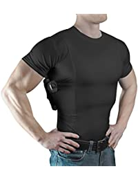 Men's Crew Neck Undercover- Concealed Carry Holster Shirt