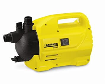 Karcher GP40 Garden Pump Up to 3000 Litres Per Hour Amazonco