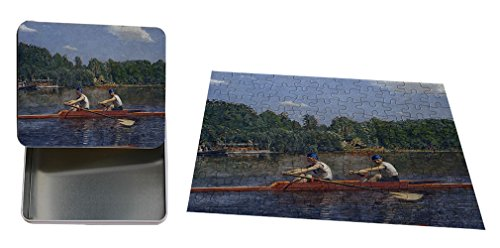 Biglin Brothers Racing (Thomas Eakins) Metal Tin Trinket Box (4