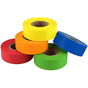 "Assorted Pack of, 3/4"" Multi-Use Labeling Tape 