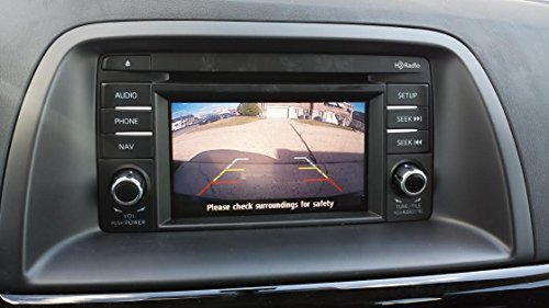 PYvideo Backup Camera Kit for Mazdafor Sedan, Wagon, Cx-5, Cx-9 (2013, 2014,2015)