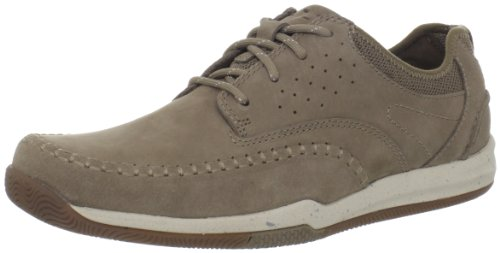 Clarks Heren Watkins Track Oxford Taupe Nubuck / Nubuck Taupe