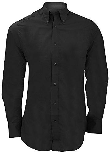 Kustom Kit City-Maglia a maniche lunghe, da 17 KK386, colore: nero