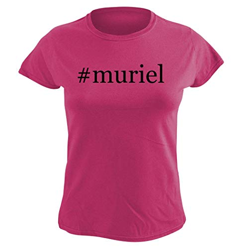 Harding Industries #Muriel - Women's Hashtag Graphic T-Shirt, Pink, Small