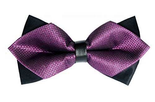 Purple Pre 1pc Polyester Party Bow Designs Tie Tied Various New Ties Westeng Style Men's Wedding Bow Zpvaq0wd