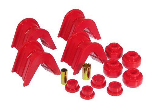 Offset Control Arm Bushing (Prothane 6-1903 Red 7 Degree Offset Complete Bushing Kit)