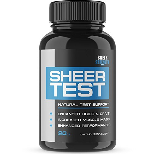 Sheer Testosterone Booster Men Supplement