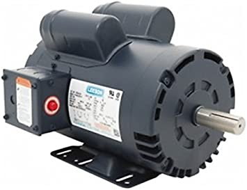 Leeson Electric Leeson Motors - 5HP, 230V, 3450RPM, DP, Rigid Mount, 1.0 S.  F. - Electric Fan Motors - Amazon.comAmazon.com