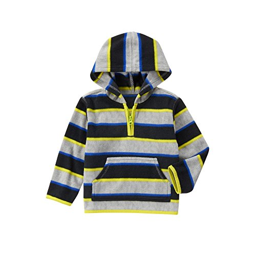 Crazy Baby Striped Fleece Hoodie product image