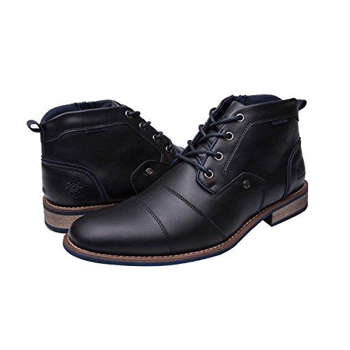 GW Mens 16391 Fashion Boots 9.5M (Men Black Boots)