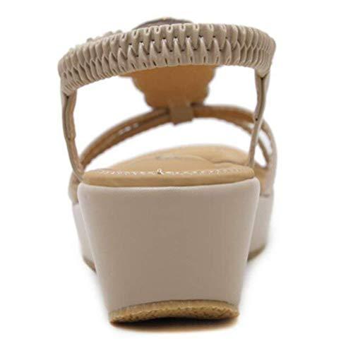 Spillo Spillo Cinturino Style per Colore Donna alla UK UK UK con Caviglia 5 alla a 5 ZHRUI a Caviglia alla Tacco Cinturino Caviglia Cinturino con a Tacco Spillo Black con Spillo black 1 Style Tacco Dimensione nqPgw8SB