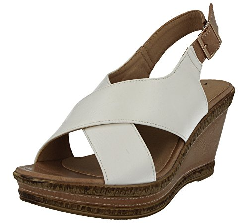 da Walk White Cushion ragazza' donna Zeppe HxCqvwv7