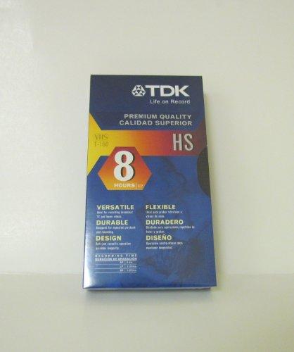 (TDK T-160 VHS 8-Hours Videocassette -10 Pack (T-160))