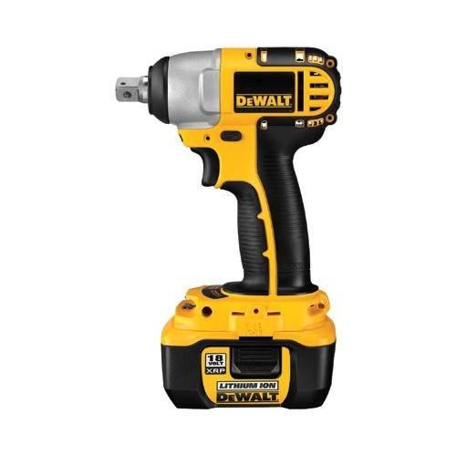 DEWALT DC822KL 18-Volt 1/2-inch Lithium Ion Cordless Impact Wrench with NANO Technology